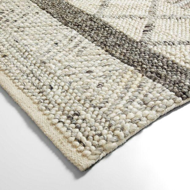 LaForma Klin Vloerkleed Wol 160 x 230 cm - Grijs - afbeelding 3