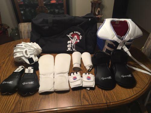 "karate / taekwondo sparring gear kids ""youth 2""size"