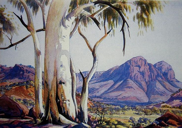 Ghost Gums and Blue Ranges
