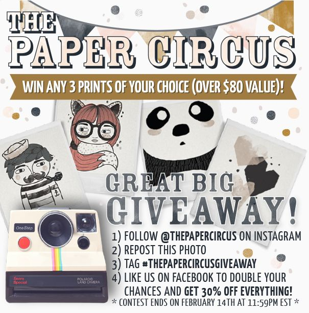 "Remember to share it ""publicly"" on Facebook so we can see your entry to the giveaway!"