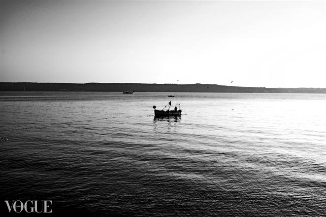 Fisherman by Jure Klen