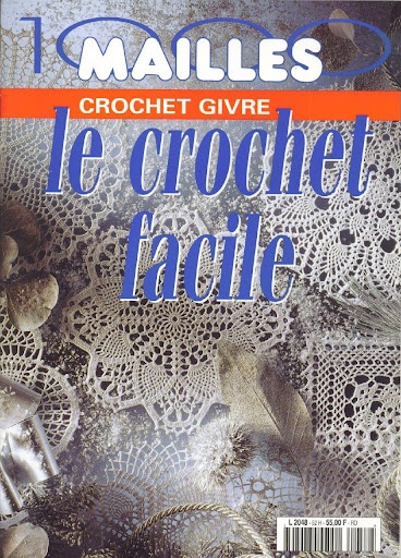 Le crochet facile 2: Hook, Crochet Book, Crochet Facile2, Napperon Crochet, Crochet Patterns, Filet Crochet, Crochet Magazines, Magazines Knits, The Hook