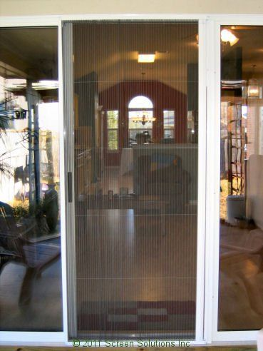 Top 25 best retractable door ideas on pinterest for Hidden sliding screen door