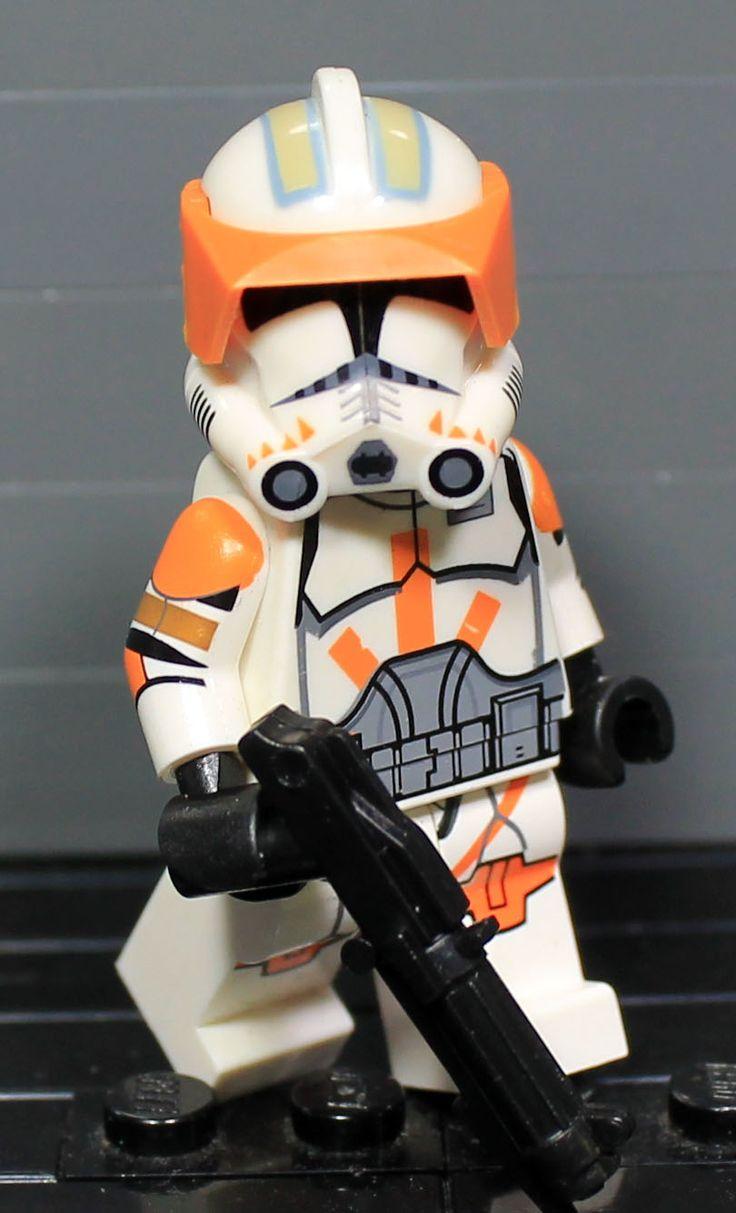 Clone Army Customs P2 Commander Cody Lego Star Wars
