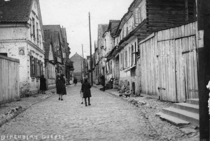 Dawna dzielnica żydowska w #Białymstoku Old Jewish District in #Białystok (before Second World War)