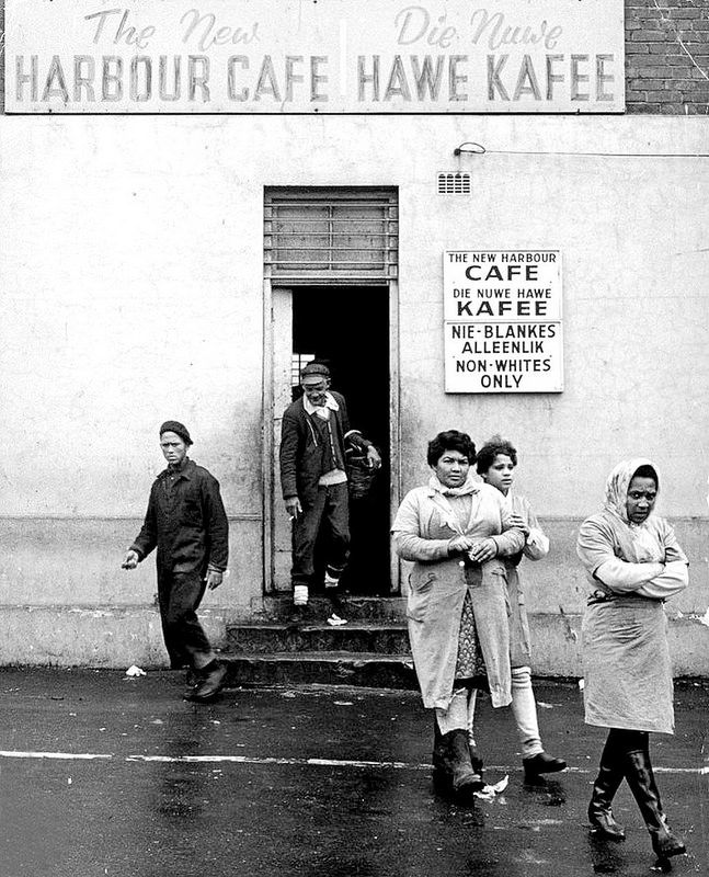 The New Harbour Cafe, Cape Town, 1973