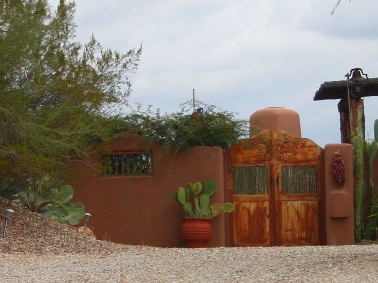 27 best images about santa fe gates on pinterest adobe for Santa fe decorations home