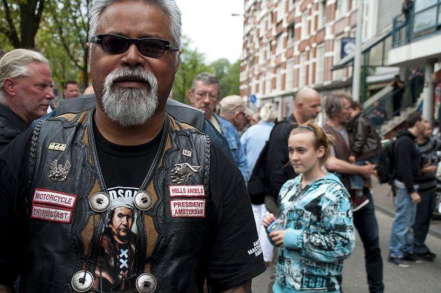 Daniel Uneputty, President - Hells Angels mc Amsterdam