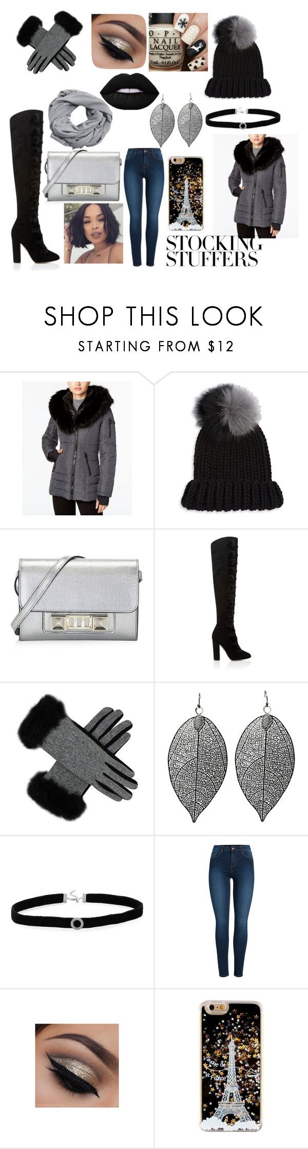 """""""Black Friday 😅😅😜😘😇"""" by covergirl1670 ❤ liked on Polyvore featuring Laundry by Shelli Segal, Eugenia Kim, Proenza Schouler, BillyTheTree, Pieces and MANGO"""