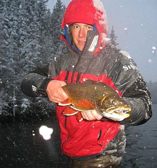 Saskatchewan splake trout catch of for Hank patterson fly fishing