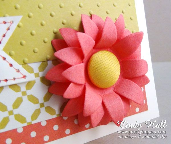 pop up posies ideas   Cindy Hall www.PrettyImpact.com Stampin' Up!