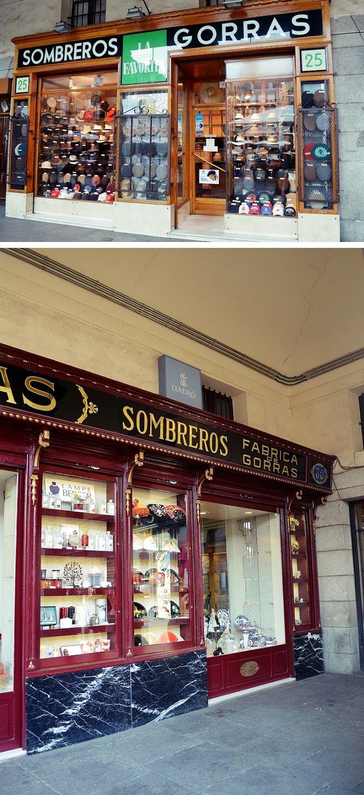 Comercios que conservan las antiguas fachadas en la zona de La Latina (Madrid) http://amorporladecoracion.blogspot.com.es/2014/03/desafio-fotografico-fachadas-comercios.html