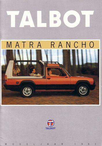 Talbot Matra Rancho 1981