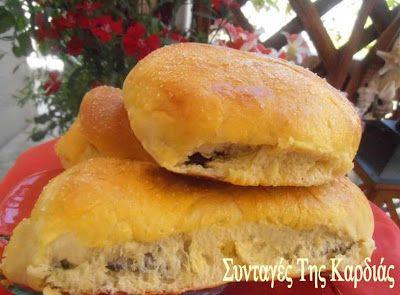 ΣΥΝΤΑΓΕΣ ΤΗΣ ΚΑΡΔΙΑΣ: Ψωμάκια γεμιστά με nutella