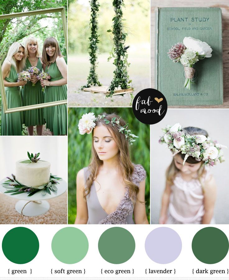 Looking for green lavender wedding color scheme here is a pretty palette of how to use green lavender color scheme this palette is ideal for woodland wedding