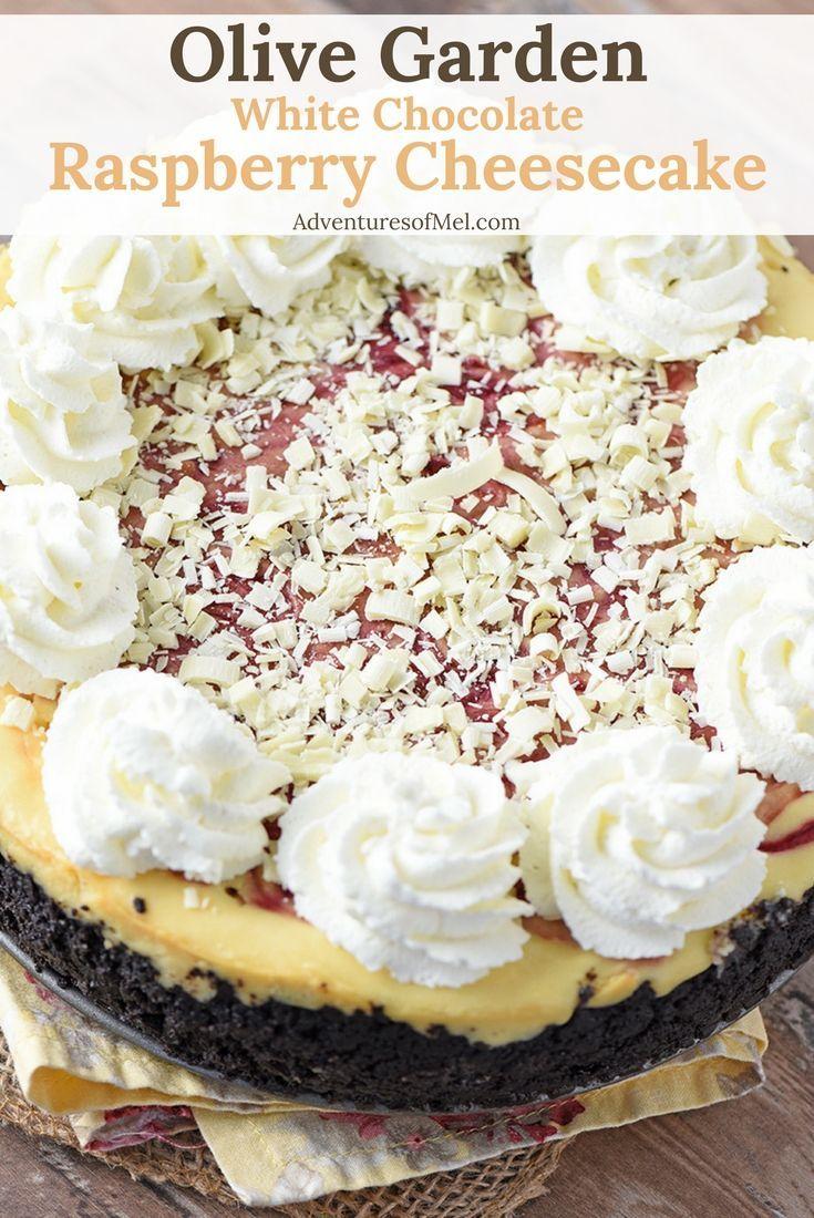 Olive Garden White Chocolate Raspberry Cheesecake Recipe