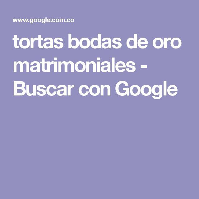 tortas bodas de oro matrimoniales - Buscar con Google