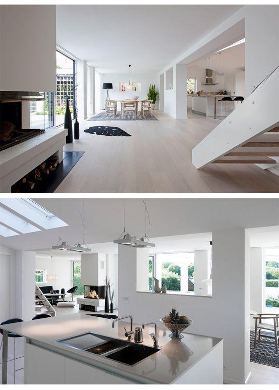 Ännu ett danskt 60-talshus som genomgått en fantastisk förvandling. Både exteriör och interiör är helt fantastisk och av det gamla huset finns inte mycket kvar. Här kan du läsa mer om huset och se fler bilder.            Foto: Lars Kaslov/ Bo Bedre
