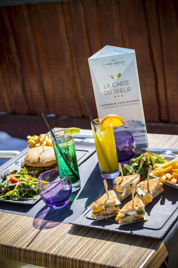 club sandwich et burger @hotel new solarium courchevel