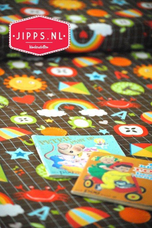 Cute fabric! School Days, #RileyBlakeDesigns  #kinderstoffen #kidsfabric #childrensfabric #onlinefabric #stoffen