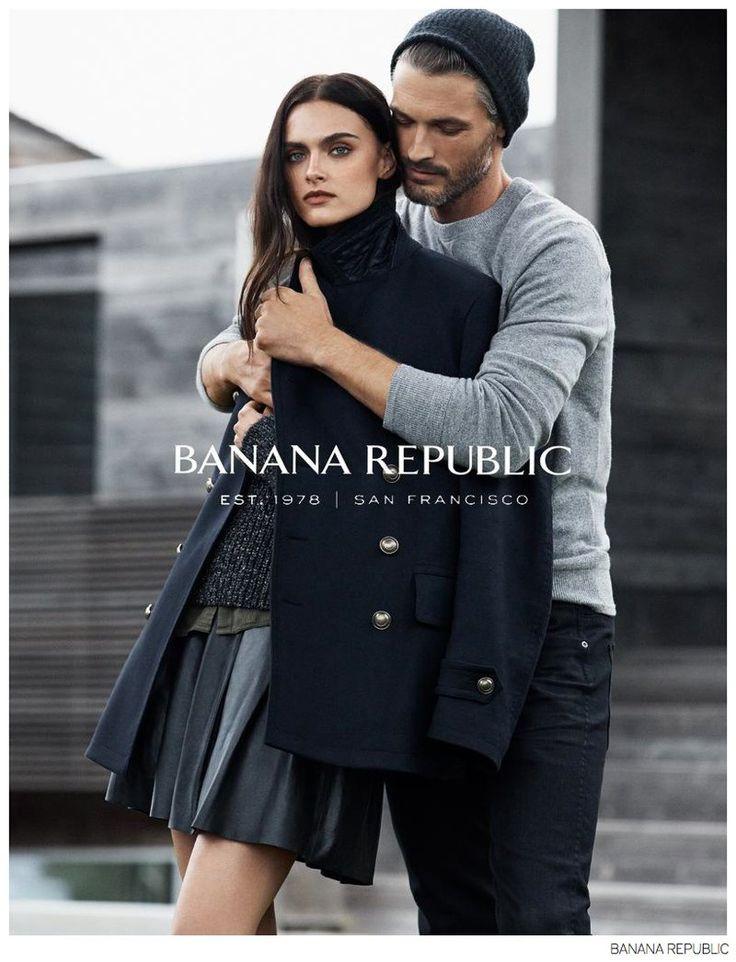 Ben Hill Joins Girlfriend Zuzana for Banana Republic Fall 2014 Campaign image Banana Republic Ben Hill 002