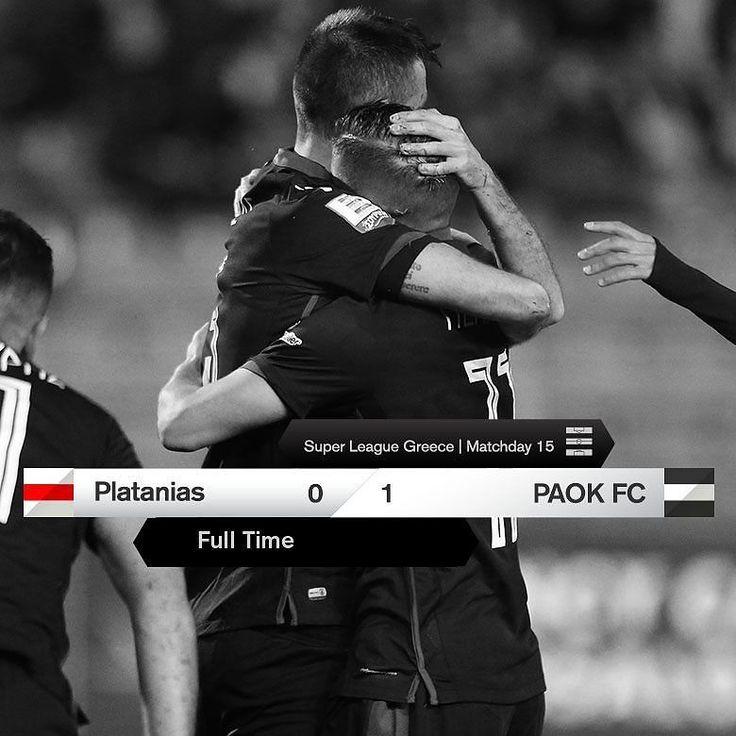 #PLATPAOK 0-1 #SuperLeague #win #PamePAOKARA