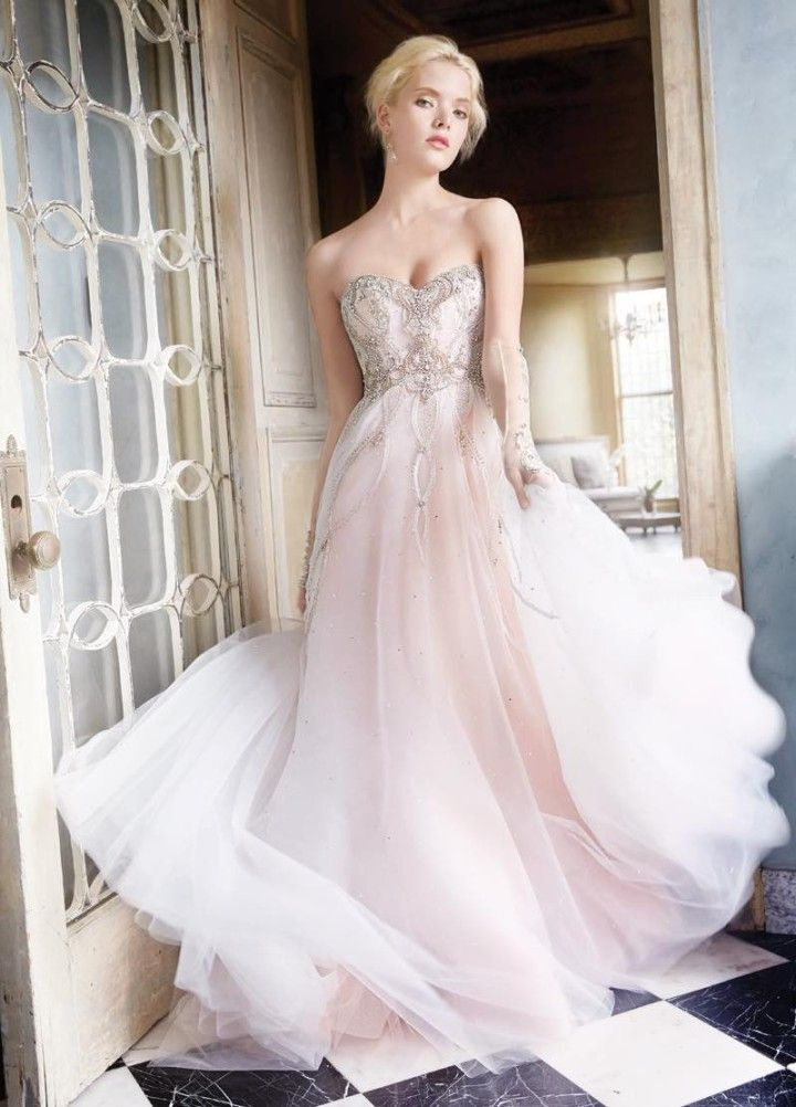 soft romantic Alvina Valenta wedding dresses
