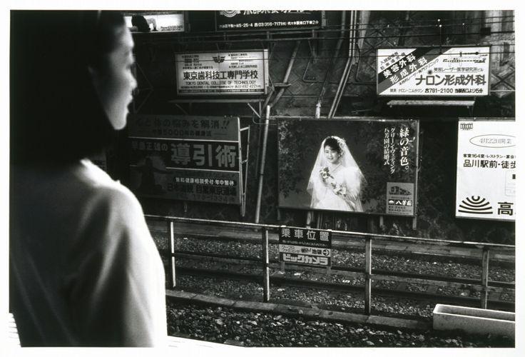 Kineo KUWABARA :: 1989. 〈東京暦日〉より《品川区目黒駅》 1989年 | ゼラチン・シルバー・プリント | 世田谷美術館蔵