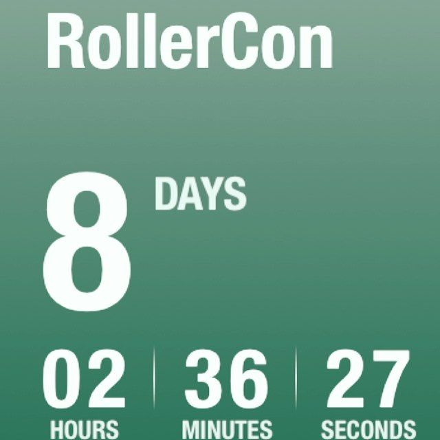 OMG! It's SO SO close.  Are you ready?  Are you coming too? #rollercon #rollerderby #cantwait #prepare #lasvegas #rollercon2017 #thebestever