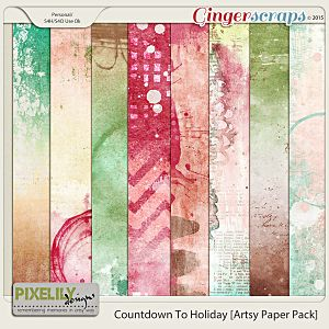 Countdown To Holiday [Artsy Paper Pack]