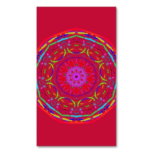 Mandala Business Cards