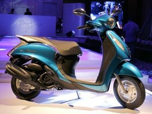 Yamaha hopes to increase scooter sales by 50 per cent with Fascino
