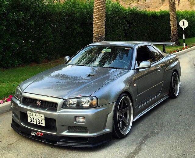 NISSAN R34 GTR today's car♪ 感性が高まる!見て楽しむ自動車速報 ↓ http://geton.goo.to #車好き #jdm