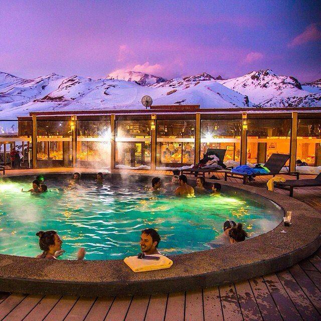 Location: Valle Nevado Ski Resort - Vitacura, Santiago, Chile.  Photo Credit: @vamospraonde  Follow our amazing friends @vamospraonde & @quelfurtado for incredible travel photos!