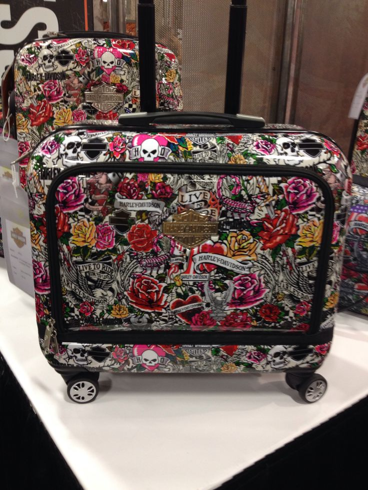rock it !! New Harley Davidson luggage collection