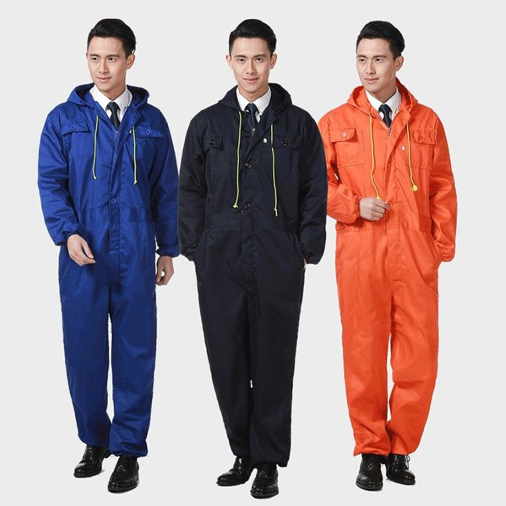 New Work Coveralls Industrial Mechanic Jumpsuits Women Men Long Sleeve Workwear