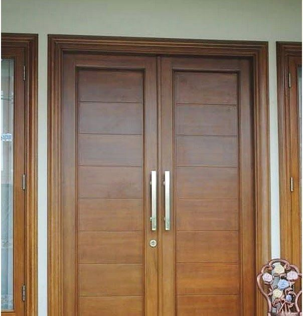 2020 Model Pintu Rumah Minimalis 2 Pintu Terbaru 2019 ...