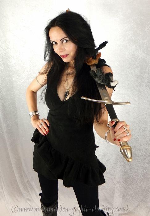 Aela Minidress by Moonmaiden Gothic Clothing UK