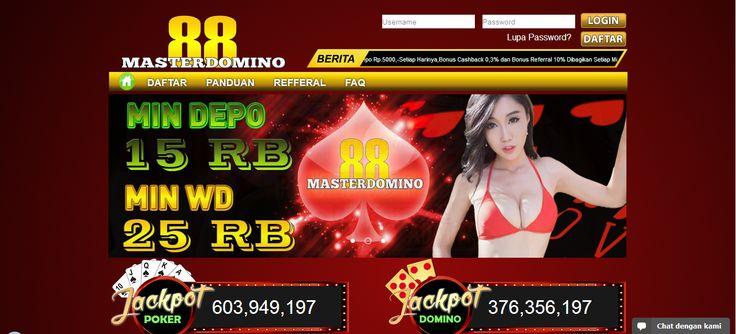 MASTERDOMINO88 – Agen Poker Online, DominoQQ Terpercaya