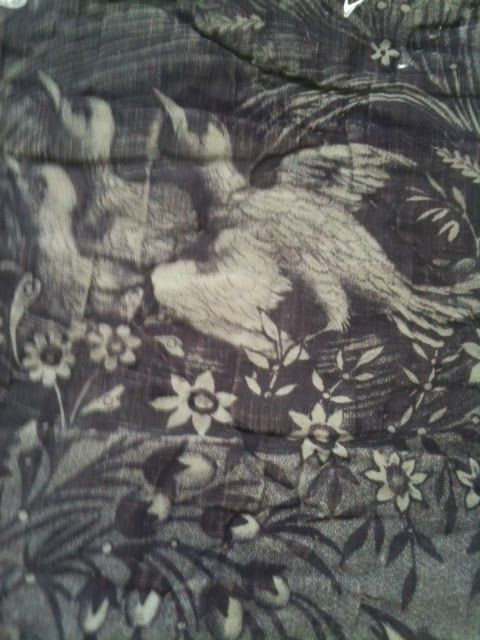 Homespun Stitchworks..... For the love of vintage: Toile de jouy.... treasure  at a vintage fair!