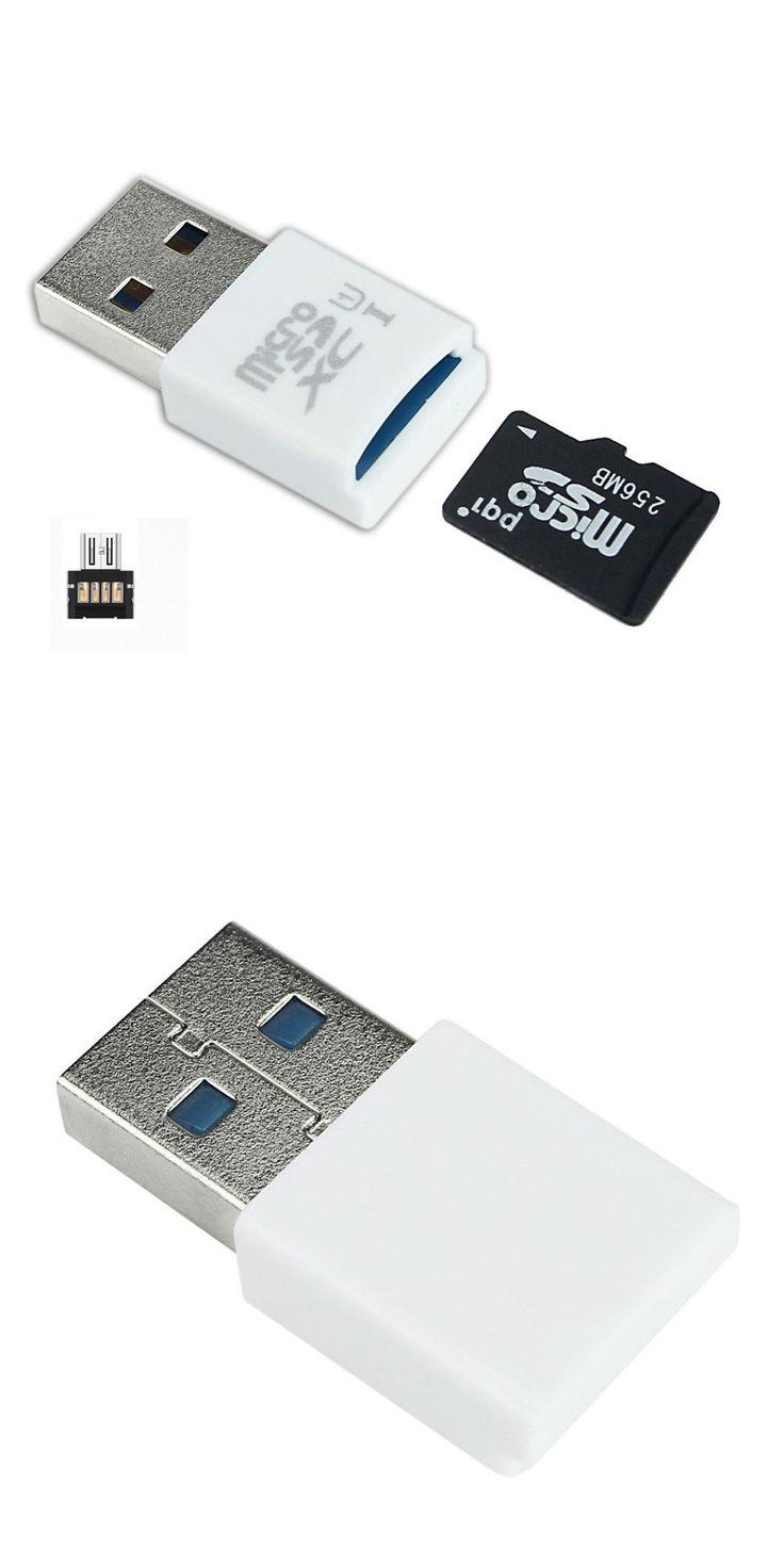 malloom  SD/SDXC TF Card Reader Adapter WH OTG USB Adapter High Quality 2017 Newest MINI 5Gbps Super Speed USB 3.0+OTG Micro