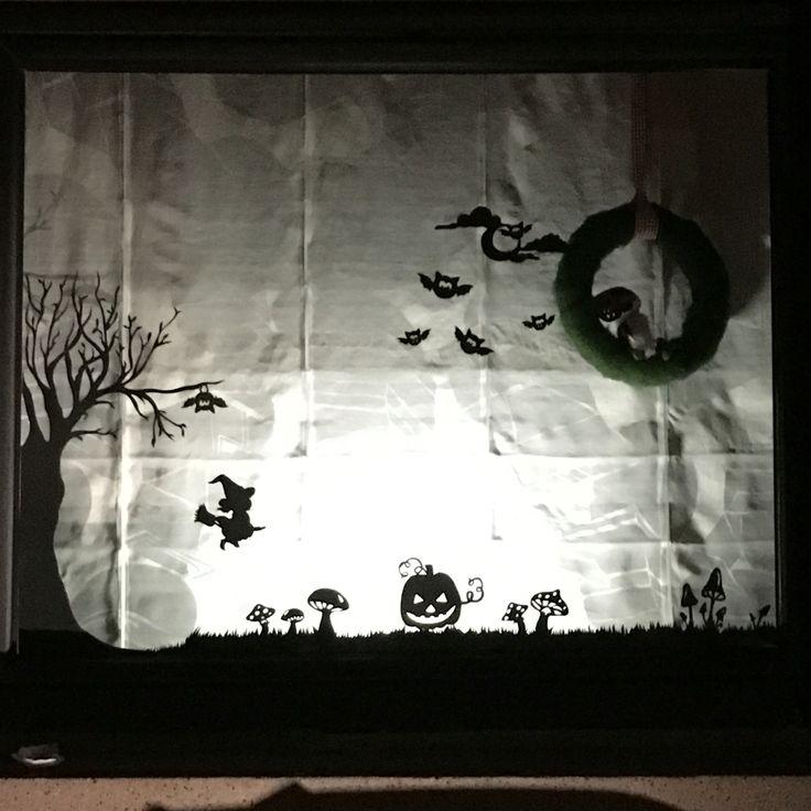 Fensterbild Halloween
