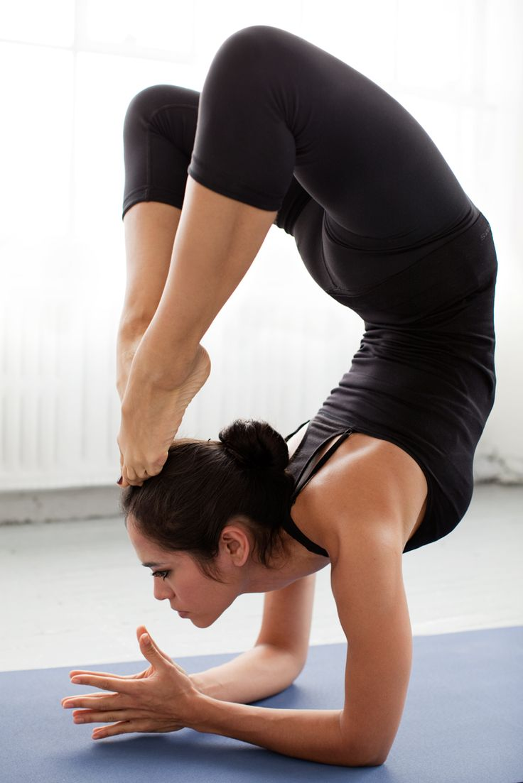 Vrschikasana - Scorpion pose