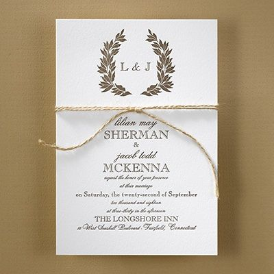 10 best Monogrammed Wedding Invitations images on Pinterest