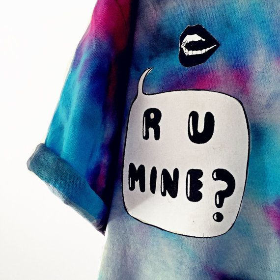 Tie dye/tumblr/grunge/arctic monkeys shirt by TrendingNowStore