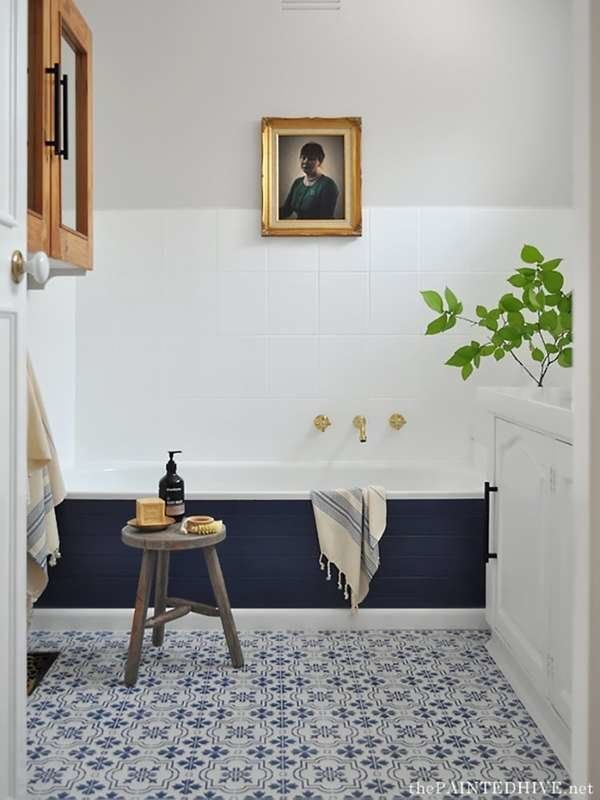 10 Bathroom Improvements That Only Took Paint In 2020 Cheap