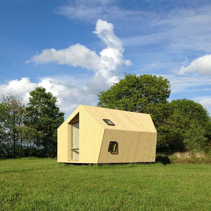 Treck-In Hicker's Cabins by MoodWorks Architecture   Kristel Hermans Architectuur. #morfae #moodworksarchitecture #kristelhermansarchitectuur #architecture #cabin