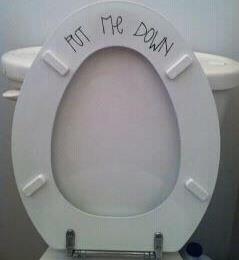 LoL! I'm doing this!!Subtle Reminder, Boys Bathroom, Pets Peeves, Toilets Seats, Vinyls Letters, Too Funny, Vinyl Lettering, Little Boys, Baking Soda