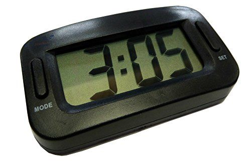 XtremeAuto� LARGE, Digital Clock for Car Dashboard. Ideal for Extra Big or Replacement Device.