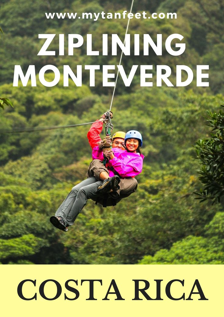 Ziplining in Monteverde is one of the top things to do in Costa Rica, click through to read what it's like:  http://mytanfeet.com/activities/selvatura-park/